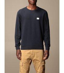c.p. company sweatshirt sweatshirt c.p. company in cotton with mini logo