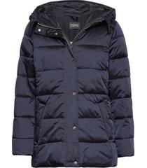 jackets outdoor woven gevoerd jack blauw esprit collection