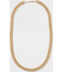river island mens gold chunky gold chain necklace