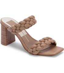 dolce vita pailey braided two-band city sandals women's shoes