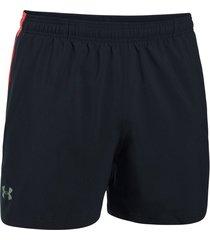 pantaloneta para hombre under armour-negro/rojo