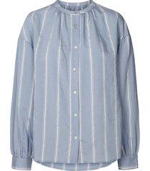 lollys laundry bibi blouse lichtblauw