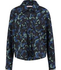 robin camo blouse 04856