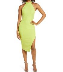 women's lavish alice tie back halter dress