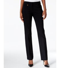jm collection petite tummy-control curvy fit pants, petite and petite short, created for macy's