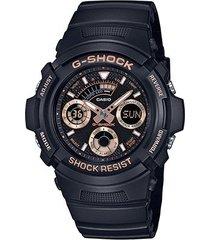relógio analógico g-shock aw-591gbx-1a4dr masculino