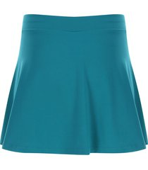 falda azul jade facol