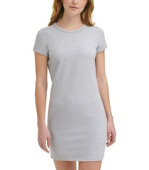 calvin klein jeans crewneck mini dress