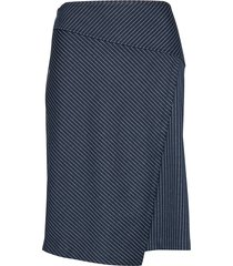 sc-amaja knälång kjol blå soyaconcept