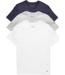 tommy hilfiger men's classic v neck 3 pack undershirts 09tvn01