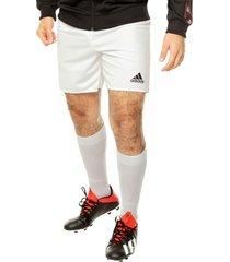 pantaloneta blanca adidas performance parma 16 sho