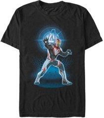 marvel men's avengers endgame iron man armor suit, short sleeve t-shirt