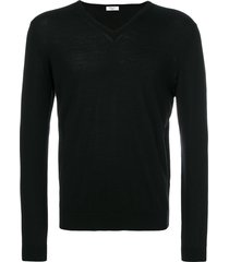 fashion clinic timeless knitted sweater - black
