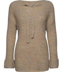 alyssaln knit pullover rws gebreide trui crème lounge nine