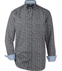 overhemd babista grijs::blauw