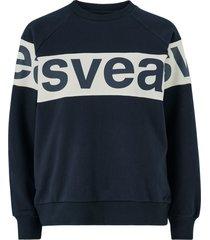 sweatshirt 2 col big svea logo crew