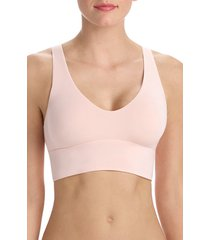 women's commando butter comfy bralette, size x-small - pink