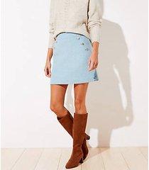 loft sailor pocket shift skirt