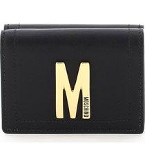 moschino monogram wallet