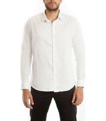 camisa frank pierce comfort white c2005 - blanco