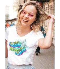 koszulka organiczna z nadrukiem run