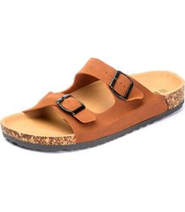 sandalia pancho brown chancleta