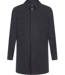 herno single-breasted nylon coat