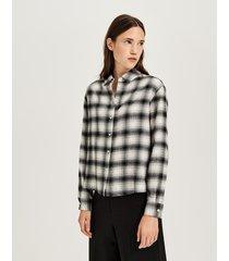 opus geruite blouse fetra