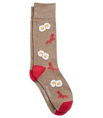 jos. a. bank bacon & eggs mid-calf socks, one-pair clearance