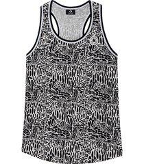 converse camiseta de tirantes chuck taylor graphic print long