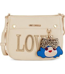 mini face charm crossbody