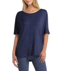 women's elbow sleeve dolman pullover
