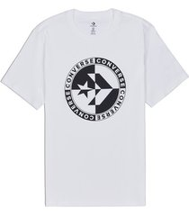 t-shirt korte mouw converse 10018875-a02