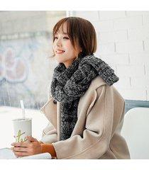 sciarpa lavorata a maglia casuale calda della sciarpa di protezione solare della sciarpa di lana di stile etnica delle donne