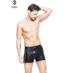 * code8 by xxx collection heren short zwart/zilver
