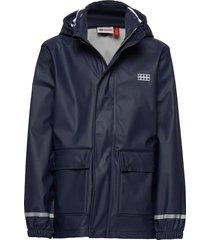 lwjoshua 212 - rain jacket outerwear rainwear jackets blå lego wear