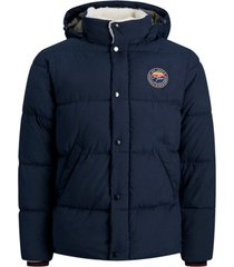 donsjas jack & jones 12173726 jjsure puffer jacket navy blazer