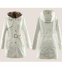 women winter coats jackets faux fur warm parka hood coat