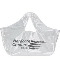 marine serre hardcore couture tote bag - neutrals