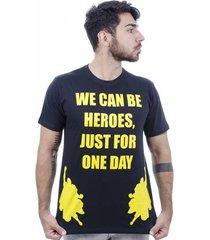 camiseta hardivision heroes manga curta