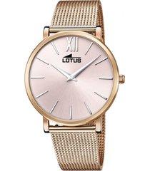 reloj smart casual cobre lotus