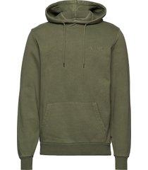 casual hoodie hoodie trui groen han kjøbenhavn