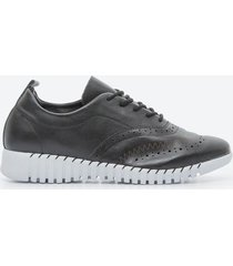 zapato casual mujer freeport z1d2 negro