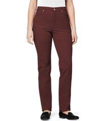 gloria vanderbilt women's amanda jean pant, in regular & petite sizes