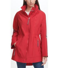 tommy hilfiger women's stretch anorak coat