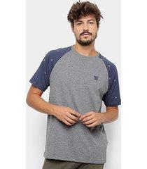 camiseta dc shoes esp cresdee pocket masculina