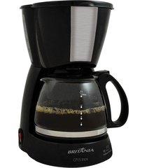 cafeteira britânia inox para 15 cafés, cp15