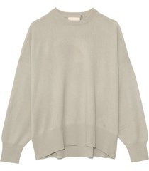 anaa cashmere sweater in almond