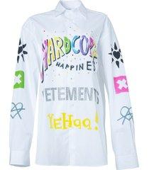hardcore happiness logo shirt