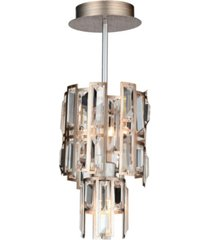 cwi lighting quida 3 light mini pendant